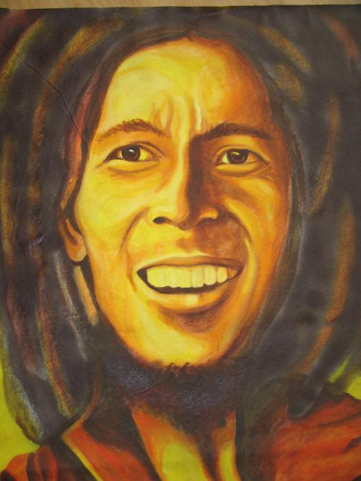 Bob Marley by chalkygirl